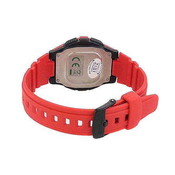 Электронные часы Casio Collection W-213-4a Red