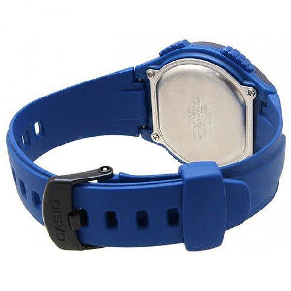 Электронные часы Casio Collection W-734-2a Blue/Black