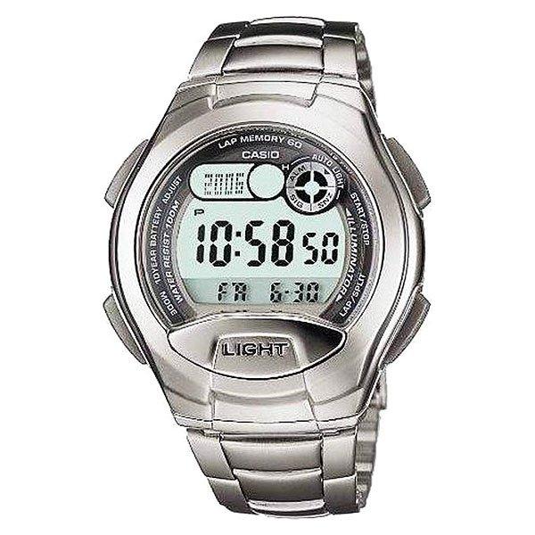 Электронные часы Casio Collection W-752d-1a Silver