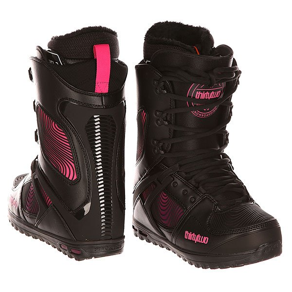 Ботинки для сноуборда женские Thirty Two Z Tm-two Black