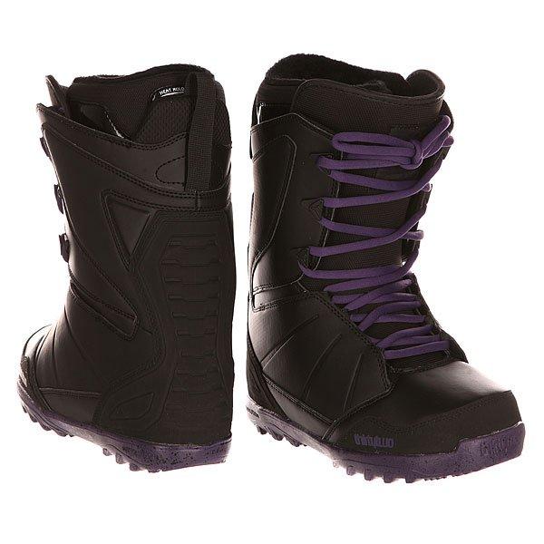 Ботинки для сноуборда женские Thirty Two Z Lashed Black/Purp