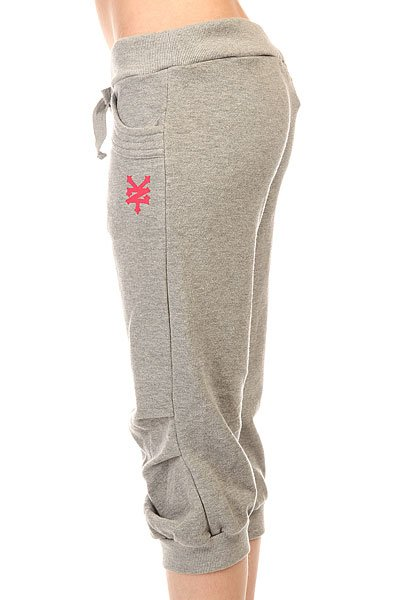 Бриджи женские Zoo York Breeches Heather Grey