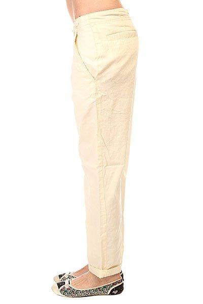 Штаны прямые женские Zoo York Corporal Pants Bone