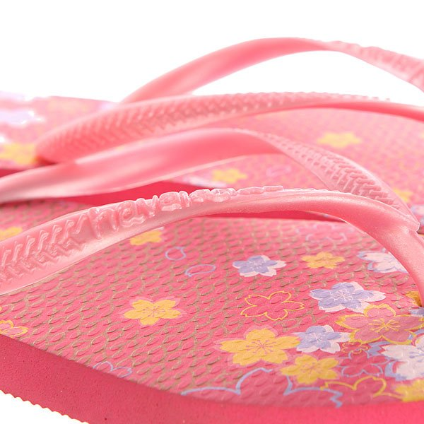 Вьетнамки детские Havaianas Slim Garden Pink/Yellow/Purple
