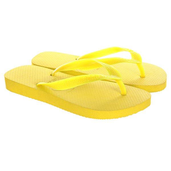 Вьетнамки Havaianas Top Sunny Yellow