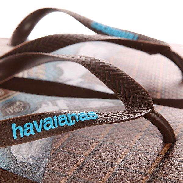 Вьетнамки Havaianas Teen Brown/Blue