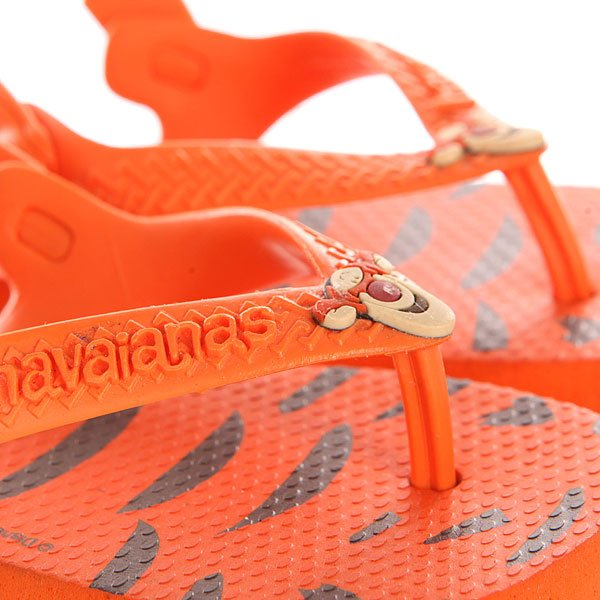 Шлепанцы детские Havaianas Disney Classics Orange/Black