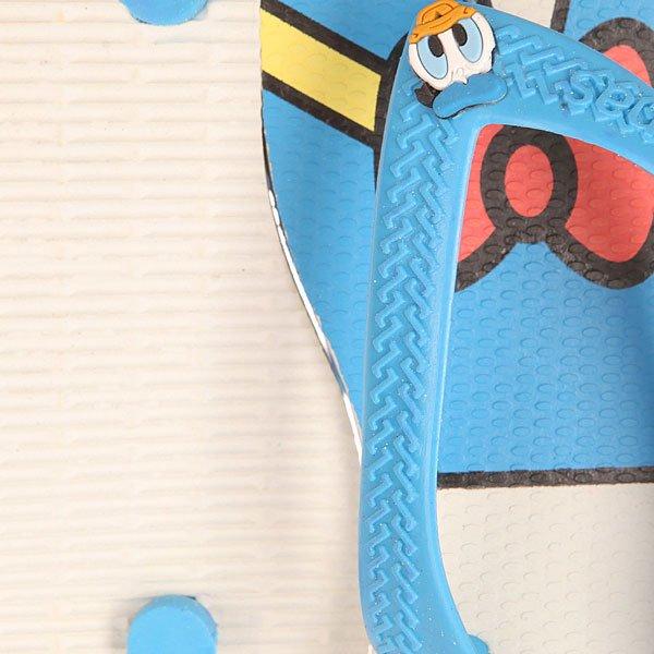 Шлепанцы детские Havaianas Disney Classic White/Blue