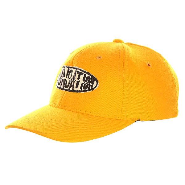 Бейсболка классическая детская Foundation Foundation Oval Yellow