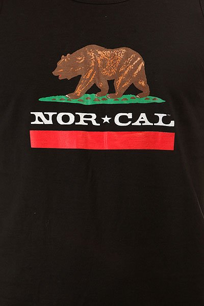 Майка Nor Cal Republic Tank Black
