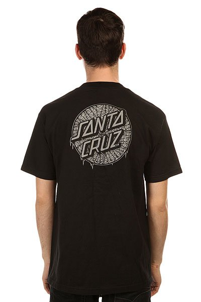 Футболка Santa Cruz Web Dot Black