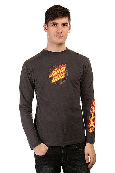 Лонгслив Santa Cruz Sc Flaming Dot Gunmetal