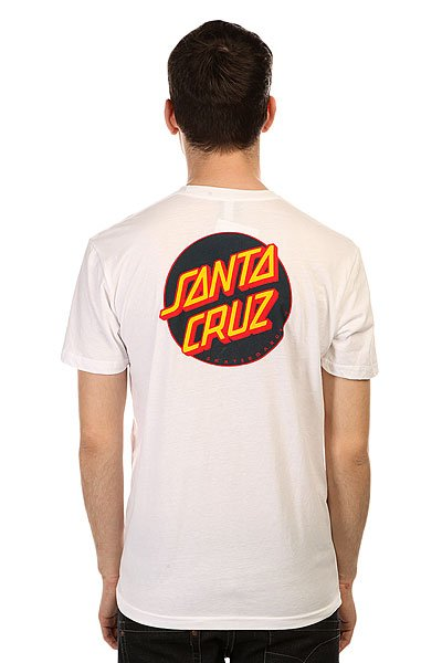 Футболка Santa Cruz Other Dot Premium White