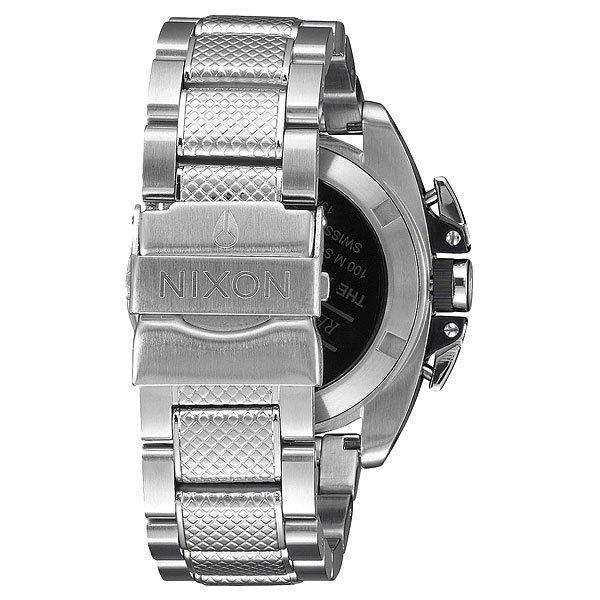 Кварцевые часы Nixon Anthem Chrono Silver/Black
