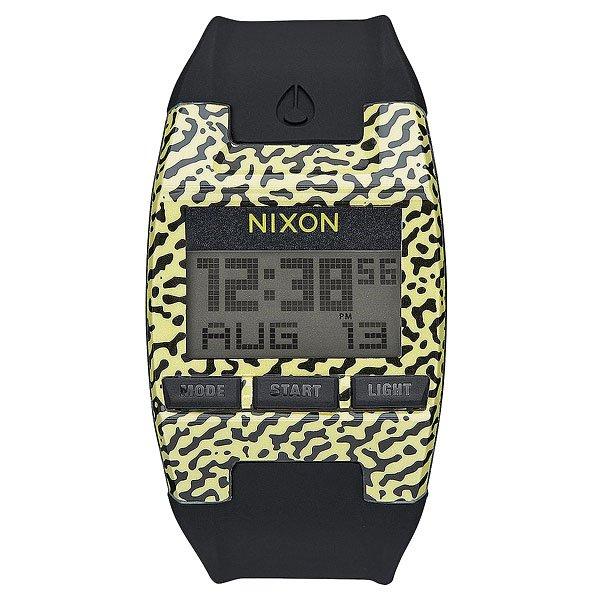 Электронные часы Nixon Comp S Neon Yellow Amoeba