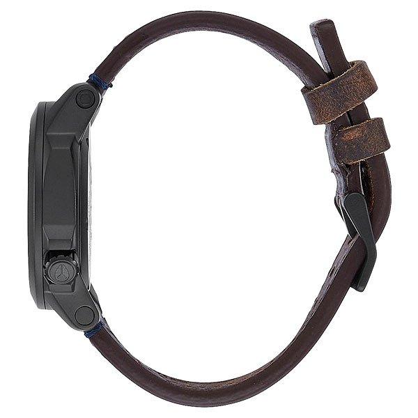 Кварцевые часы Nixon Ranger 40 Leather All Black/Brass/Brown