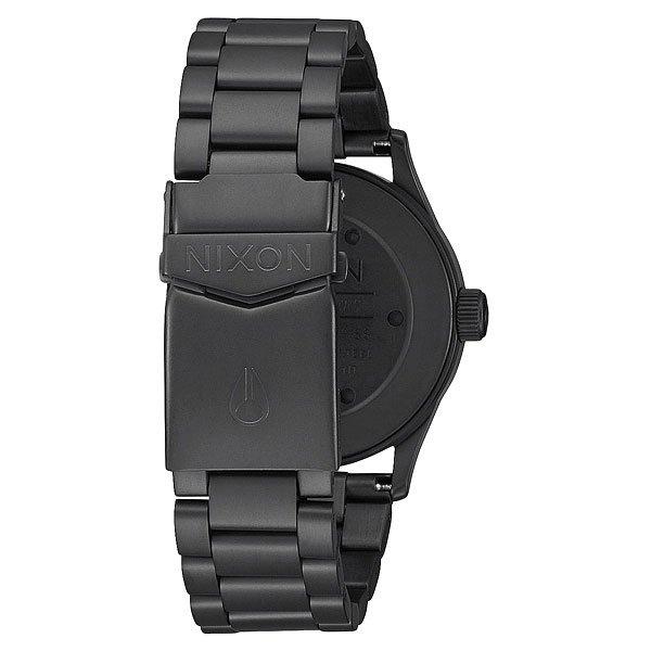 Кварцевые часы Nixon Sentry 38 Ss All Black/Brown