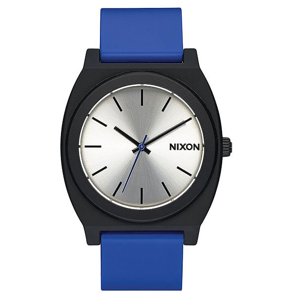 Кварцевые часы Nixon Time Teller P Black/Blue