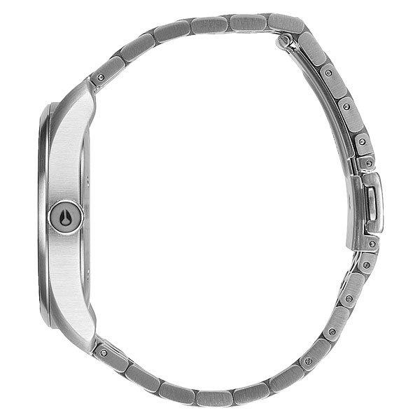 Кварцевые часы женские Nixon Bullet All Silver/Stamped