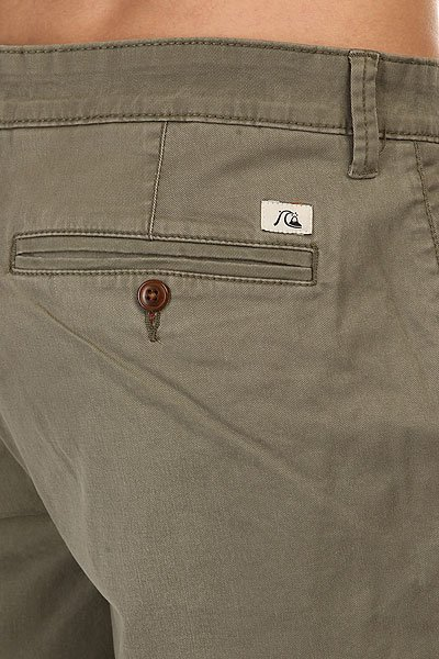 Шорты классические Quiksilver Krandy Chino Shot Wkst Dusty Olive