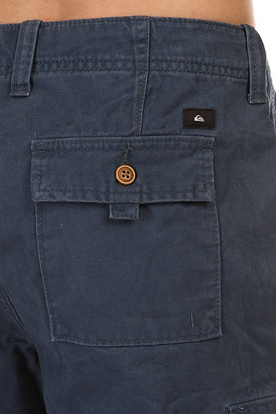 Шорты классические Quiksilver Everyday Cargo Short Wkst Dark Denim