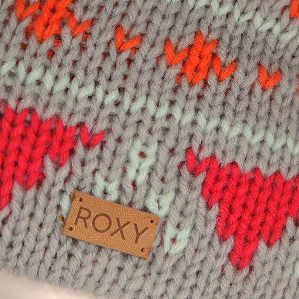 Шапка женская Roxy Djuni Beanie Heritage Heather Grey