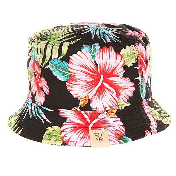Панама TrueSpin Las Flores Bucket Hat Black