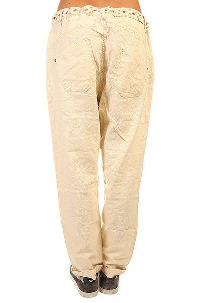 Штаны широкие женские Roxy Harmonize J Pant Bleached Sand