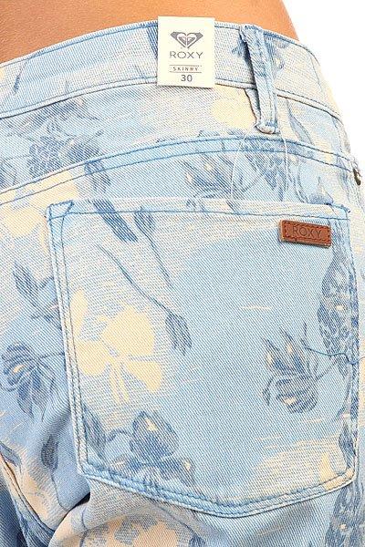 Джинсы узкие женские Roxy Suntrippers J Pant Small Vintage Herita