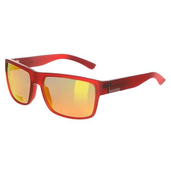Очки Quiksilver Ridgemont Rubberized Red/Ml Red