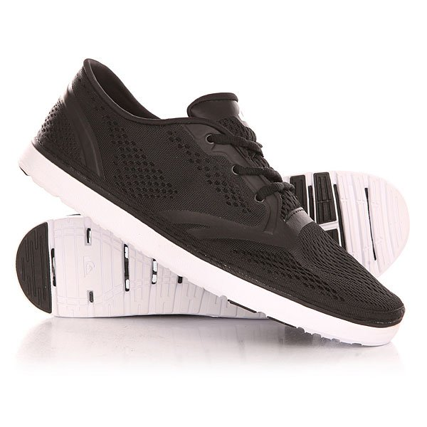 Кроссовки Quiksilver Ag47 Amphibian Shoe Black/White