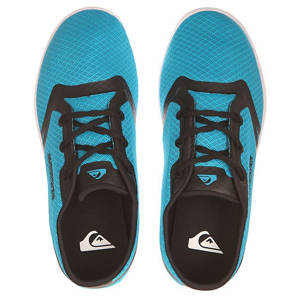 Кеды низкие детские Quiksilver Oceanside Youth B Shoe Blue/Black/White