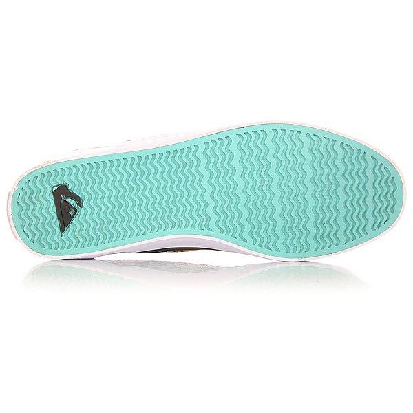 Слипоны Quiksilver Shorebreak Slip Shoe Blue/Red/White