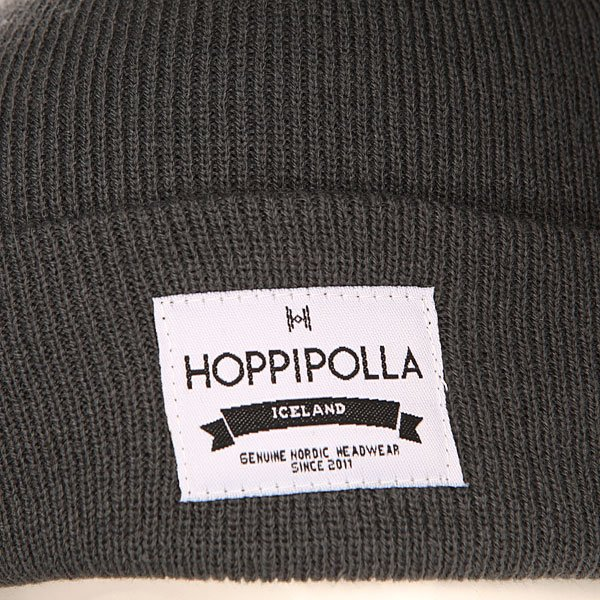 Шапка Hoppipolla Williamsburg Char Grey