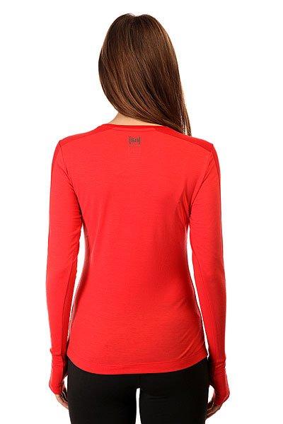 Термобелье (верх) женский Super Natural Nrg Ls Top Red
