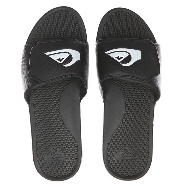Шлепанцы Quiksilver Shoreline Adjus Black/Black/White
