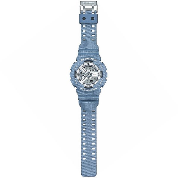Электронные часы Casio G-Shock Ga-110Dc-2A7 Light Blue