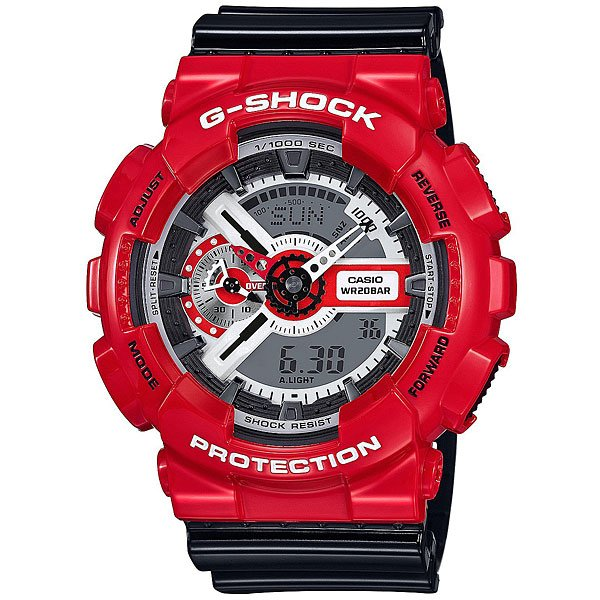 Электронные часы Casio G-Shock Ga-110Rd-4A Red/Black
