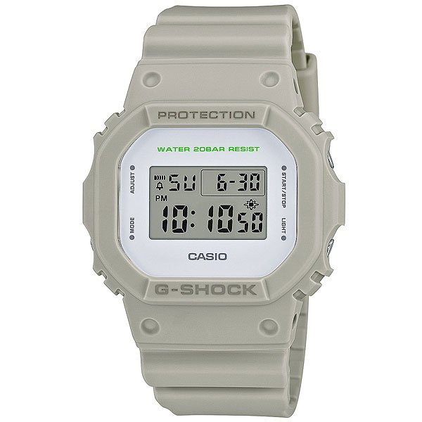 Электронные часы Casio G-Shock Dw-5600M-8E Grey