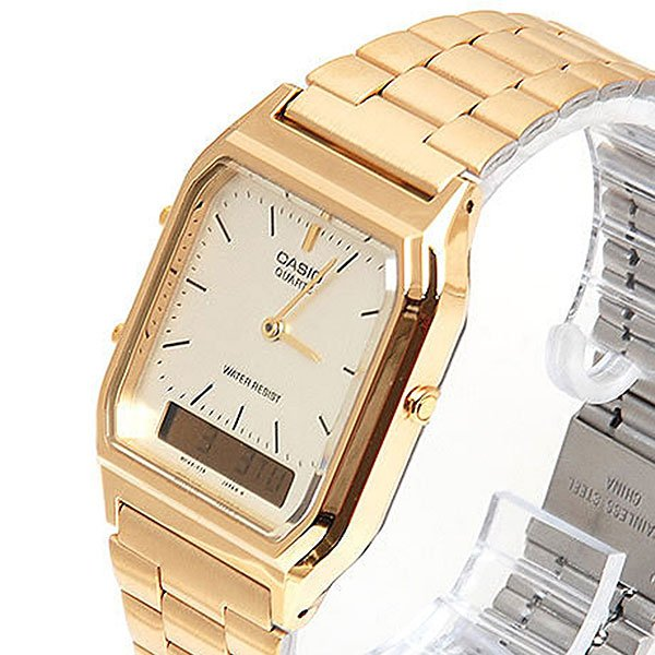 Кварцевые часы Casio Collection Aq-230Ga-9D Gold