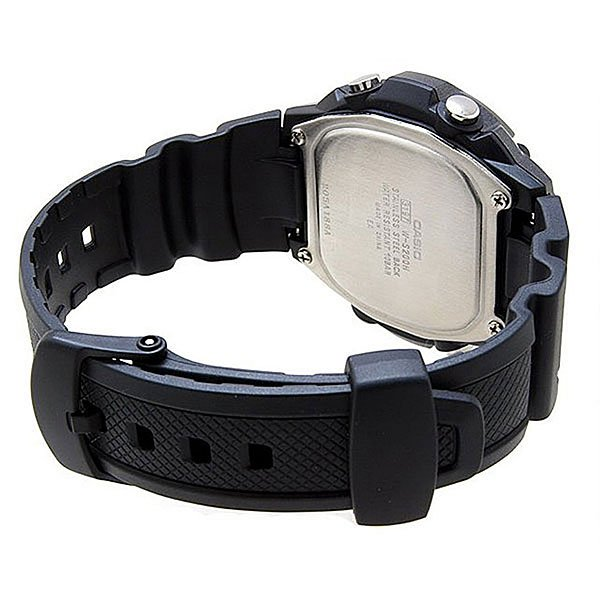 Электронные часы Casio Collection W-S200H-1B Black