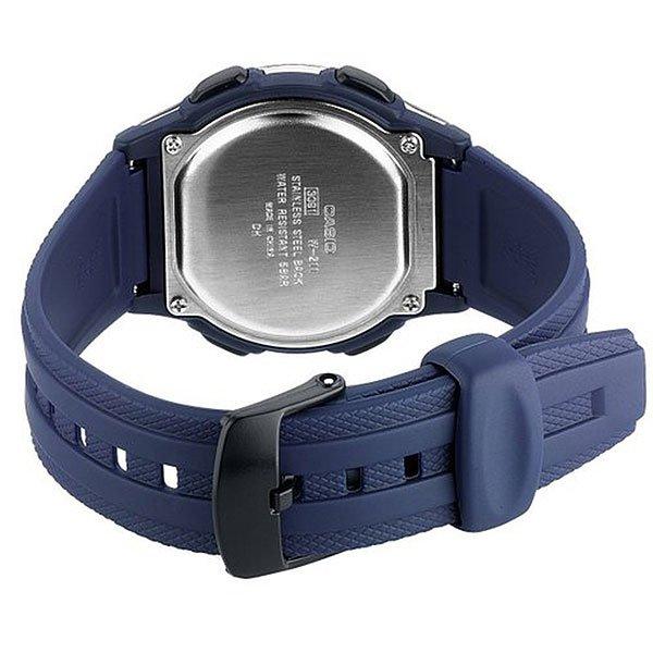 Электронные часы Casio Collection W-211-2A Blue/Grey