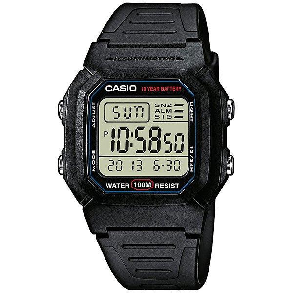 Электронные часы Casio Collection W-800H-1A Black