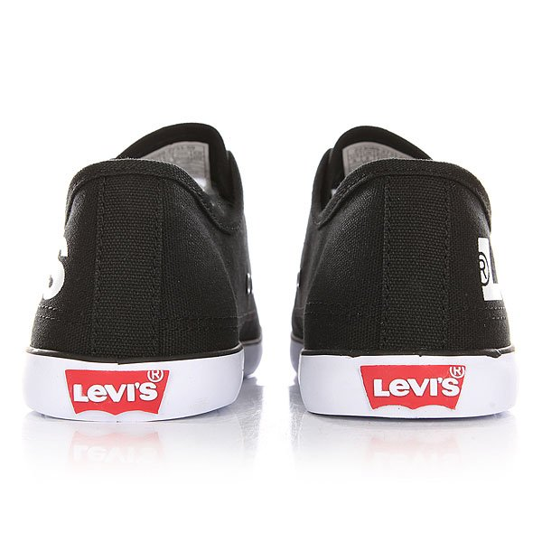 Кеды низкие Levis Venice Beach Low Regular Black