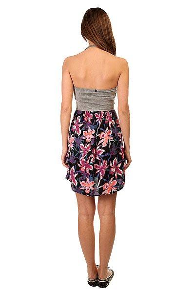 Платье женское Roxy Sleep To Dream True Black Maui Ligh