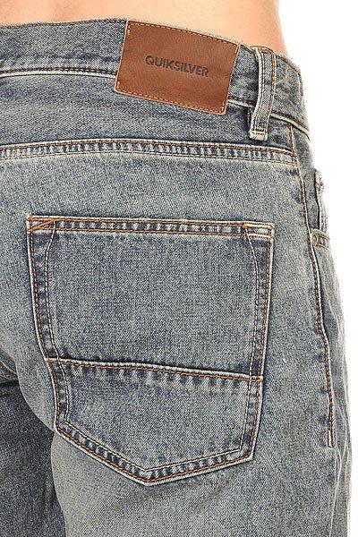 Шорты джинсовые Quiksilver Revolves Teld Dnst Elder