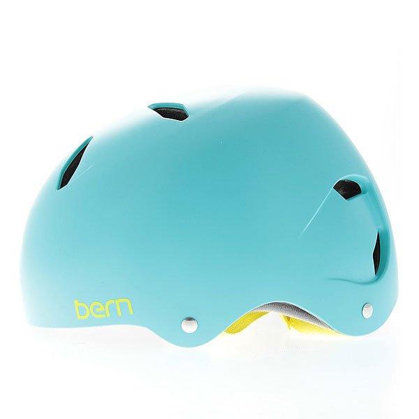 Шлем для велосипеда детский Bern Bike EPS Diabla Satin Turquoise Green