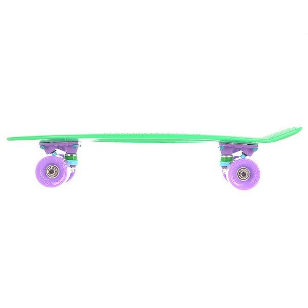 Скейт мини круизер Пластборд Grass Green 6 x 22.5 (57.2 см)