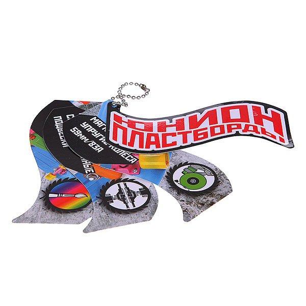 Скейт мини круизер Пластборд Snow White 6 x 22.5 (57.2 см)