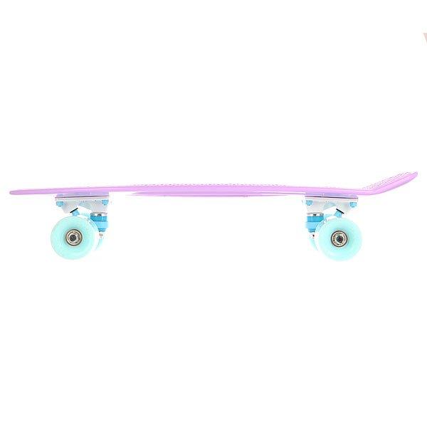 Скейт мини круизер Пластборд Pastel Gum Purple 6 x 22.5 (57 см)